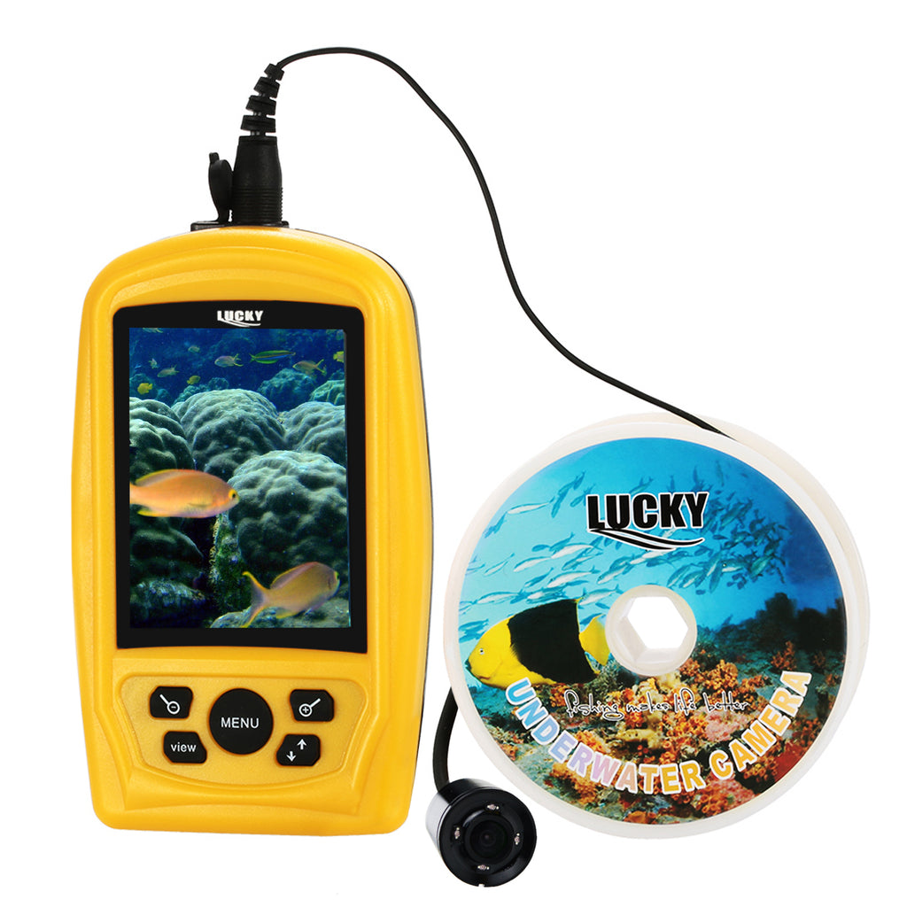 FF-3308-8 LUCKY Underwater Fishing & Inspection Camera Video System Kit Colored Live-view Monitor-Tekcoplus Ltd.