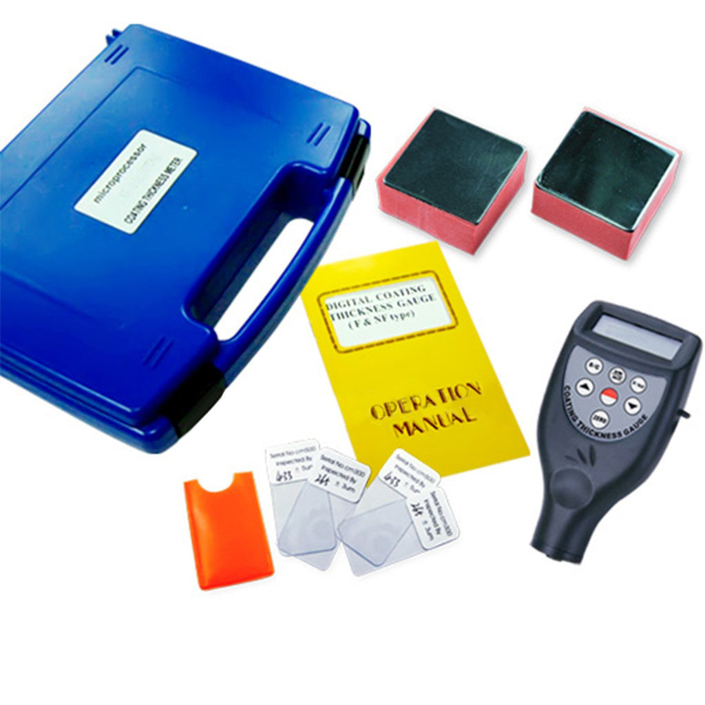 TMTK-761FN Digital Coating Thickness Meter 0~1250um / 0~50mil + Built-in F & NF Aluminum / Iron-Tekcoplus Ltd.