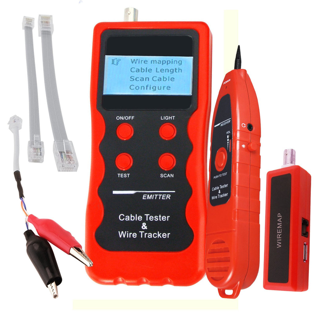 Cttk 716 Cable Tracker Phone Line Tester Bnc Network Finder Usb Rj11 42v Short Open Circuit And Tracer Locate Circuits Rj45