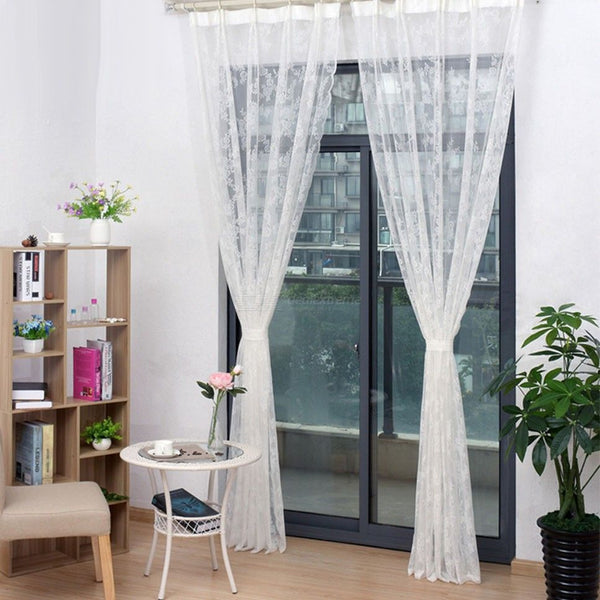 urtain Embroidered Curtain