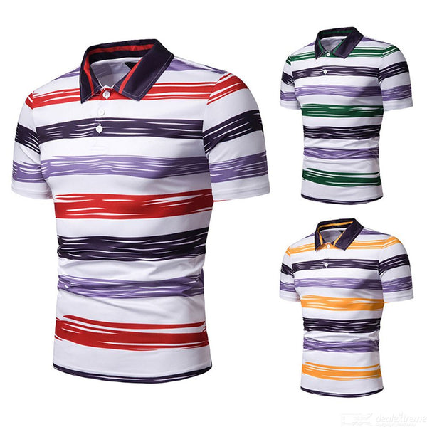 Mens Causal Polo