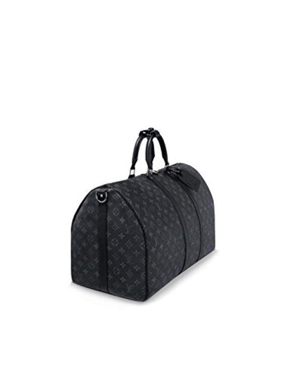 Louis Vuitton Keepall 55 Monogram Eclipse Canvas