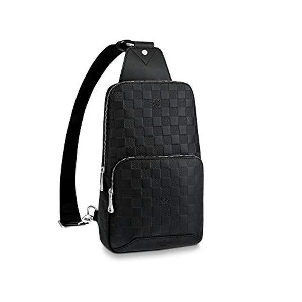 Louis Vuitton Avenue Sling Bag Men Backpacks (Damier Infini)