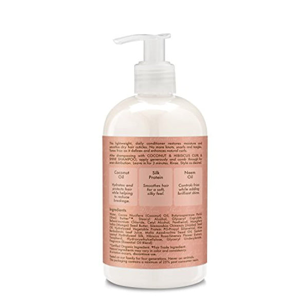 Coconut and Hibiscus Combination Pack – 13 oz. Curl & Shine Shampoo, 13 oz. Curl & Shine Conditioner & 12 oz. Curl Enhancing Smoothie