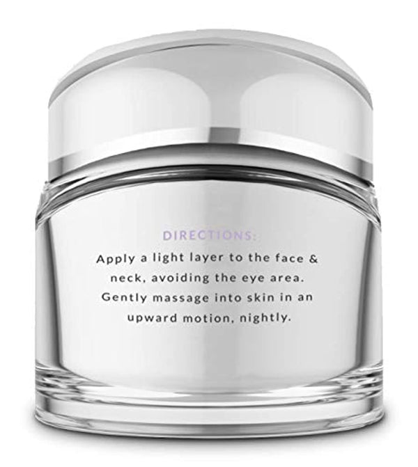 Premium Night Cream Face Moisturizer with Clinically Studied Syn-Coll, Retinol, Hyaluronic Acid, Anti Aging Collagen Cream for Wrinkles Around Face, Eyes & Neck for Men & Women