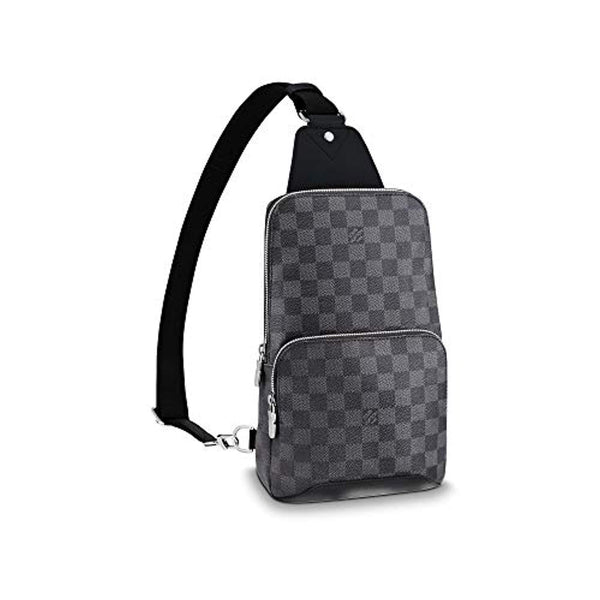 Louis Vuitton Avenue Sling Bag Men Backpacks (Damier Graphite)