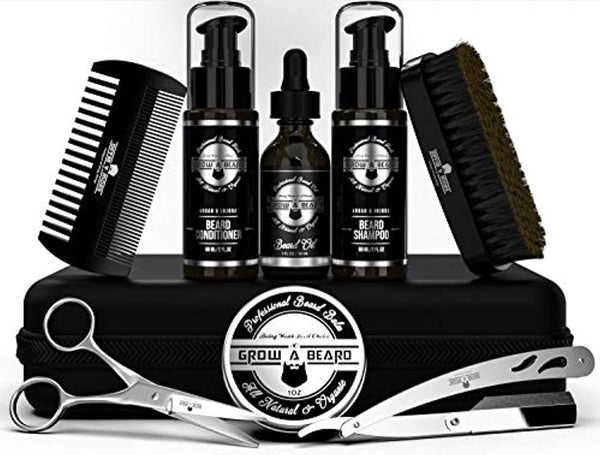 Beard Straightener Grooming Kit for Men
