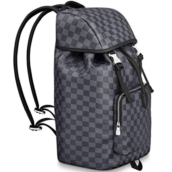Louis Vuitton Damier Graphite Canvas Zack Backpack Handbag