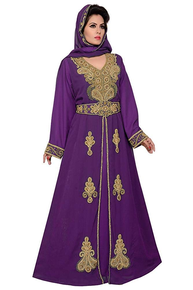 Women Handbeaded Kaftan