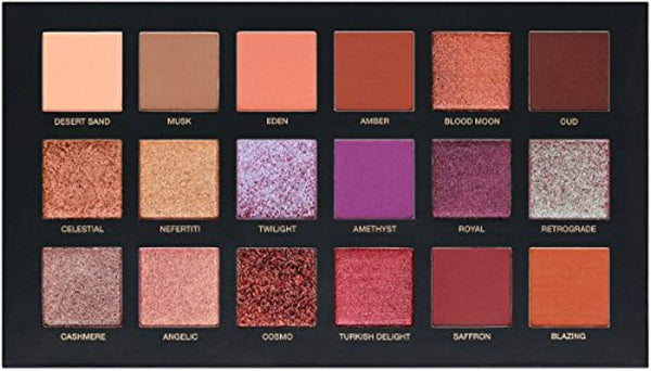 NEW HUDA BEAUTY  PALETTE 18-COLORS EYE-SHADOW