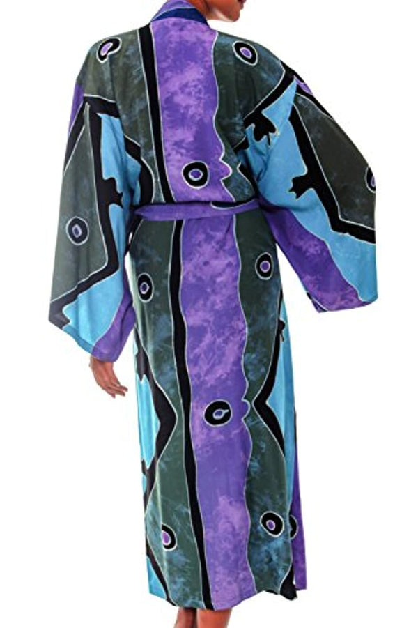 Purple Women's Long Robe,' (One Size Fits Most)