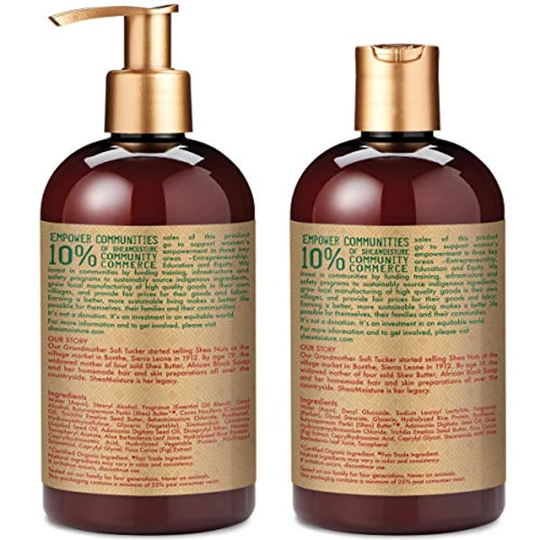 Manuka Honey & Mafura Oil Intensive Hydration Shampoo & Conditioner | Set of 2 | 13 fl. Oz. each
