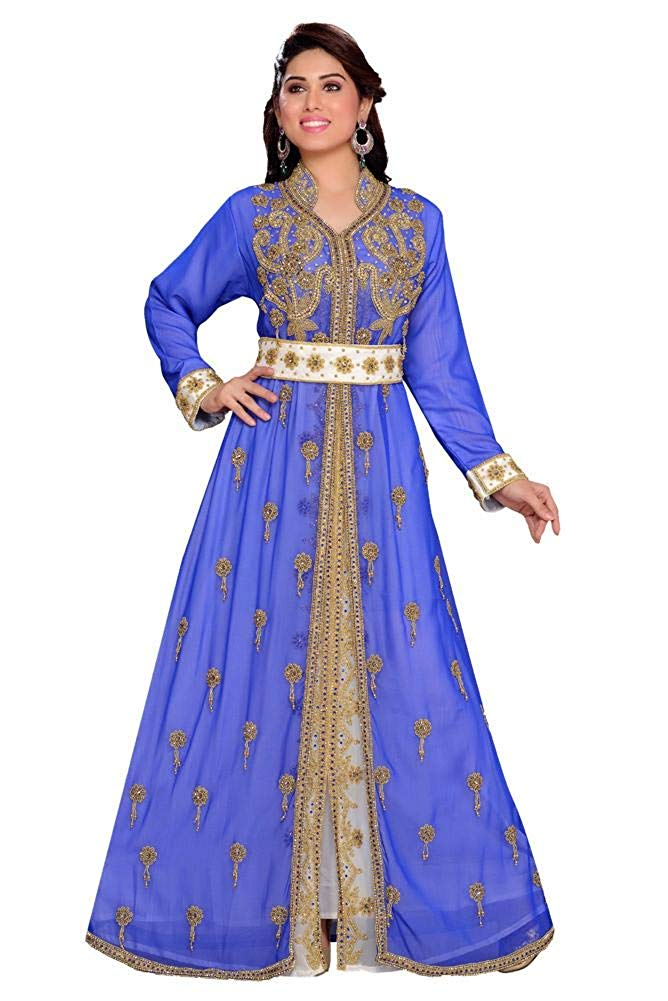 Women's Handbeaded Kaftan