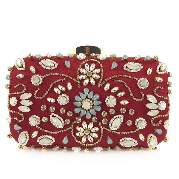 Women's  Beaded Evening Purse