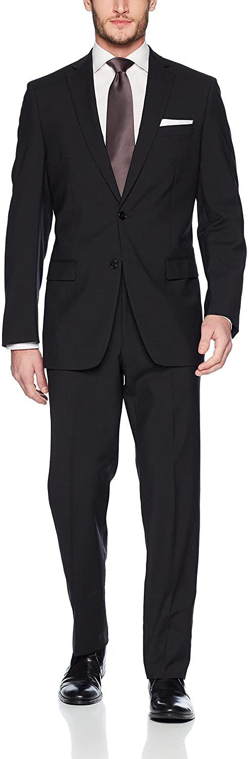 Calvin Klein Men's Classic Wool Suit