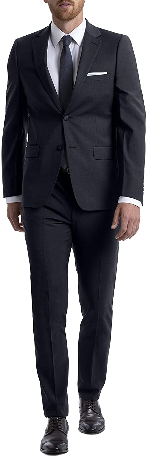 Calvin Klein Men's Skinny Fit Stretch Suit