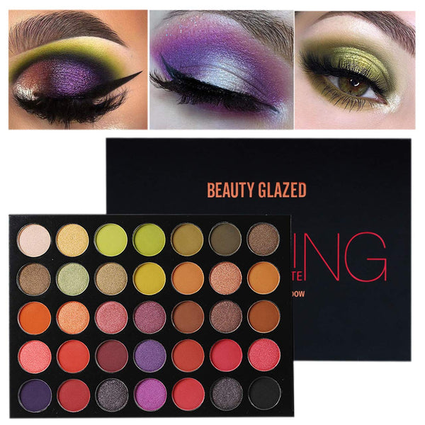 Colorful Bright Colors Eye Shadow Professional Makeup Palettes