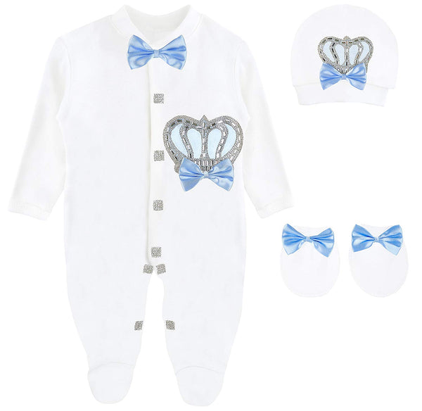 Baby Boy 3 Piece Gift Set