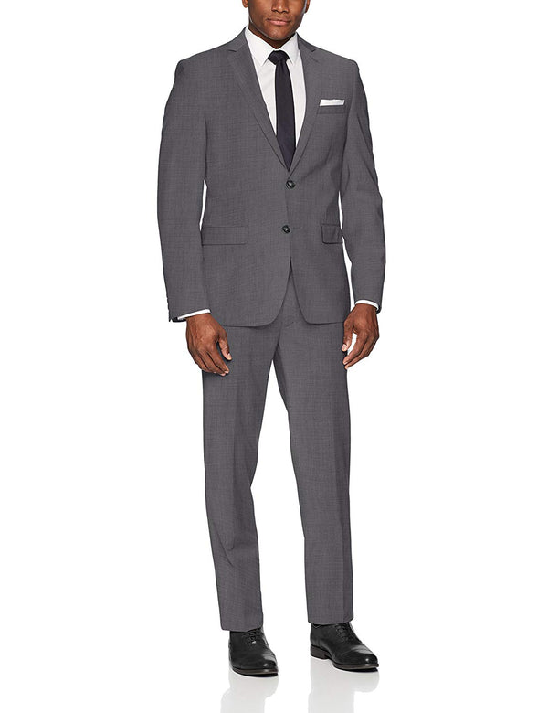 Calvin Klein Men's Slim Fit Stretch Wool Suit
