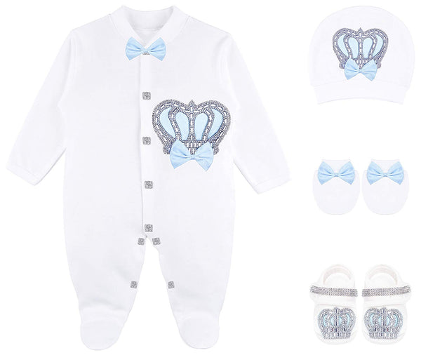 Baby Boy 4 Piece Gift Set