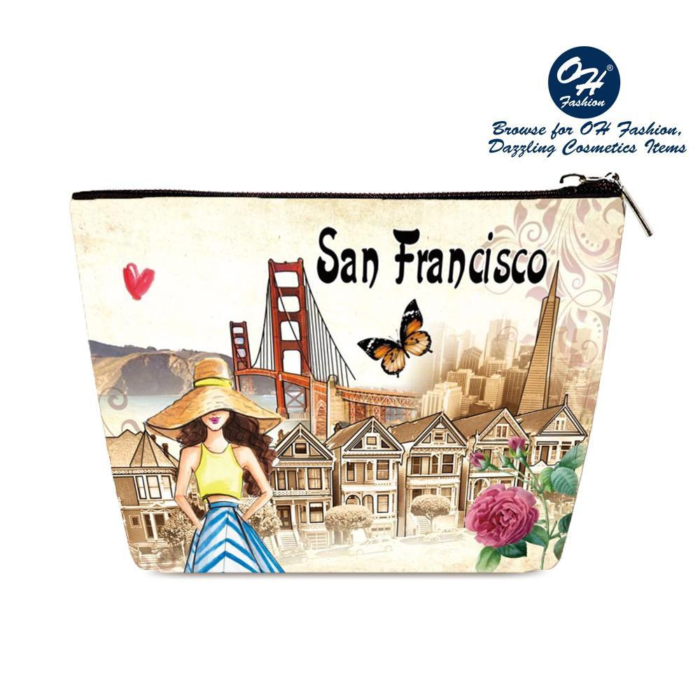 OH Fashion Cosmetic Bag Beautiful San Francisco - Be Imperial