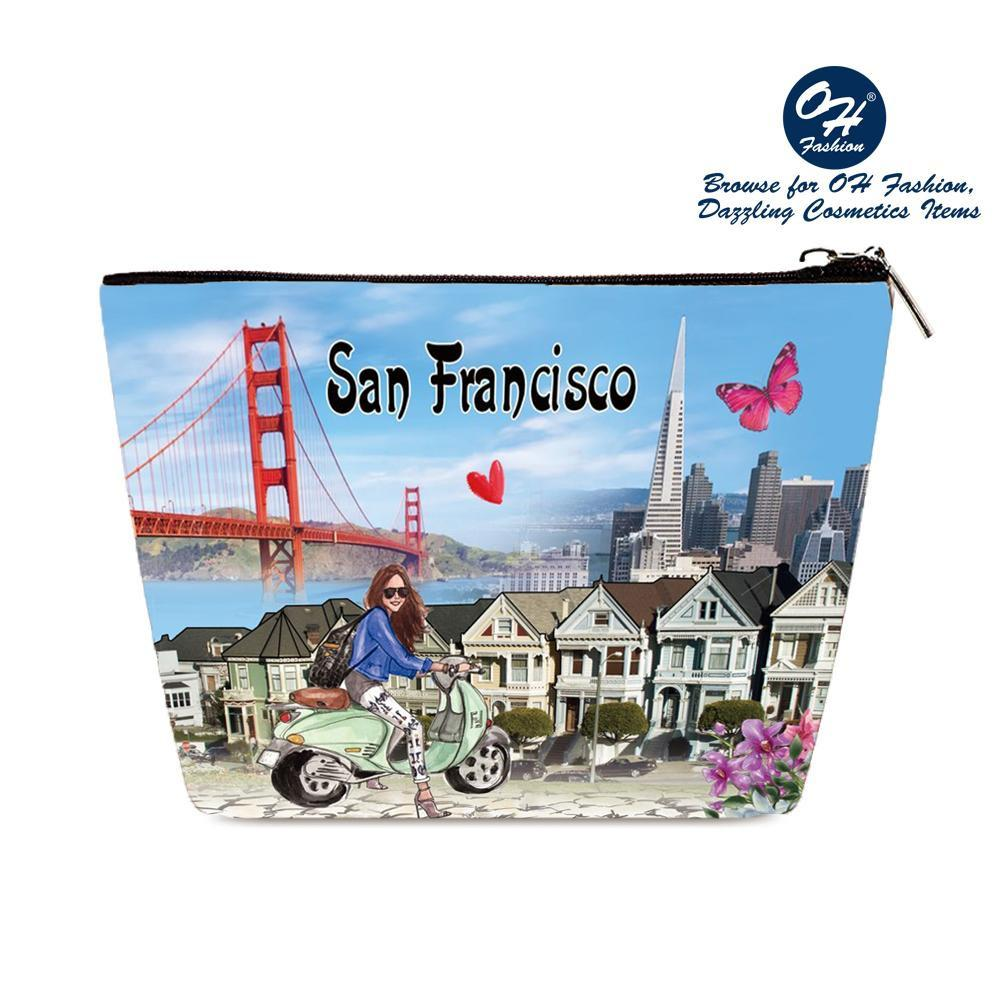 OH Fashion Cosmetic Bag Discover San Francisco - Be Imperial