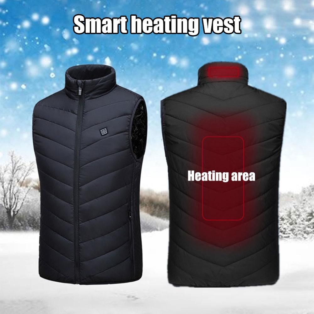 Heating Vest Washable Usb Charging Heating Warm - Be Imperial