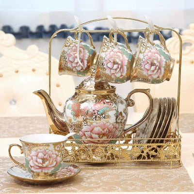 coffee set British Porcelain