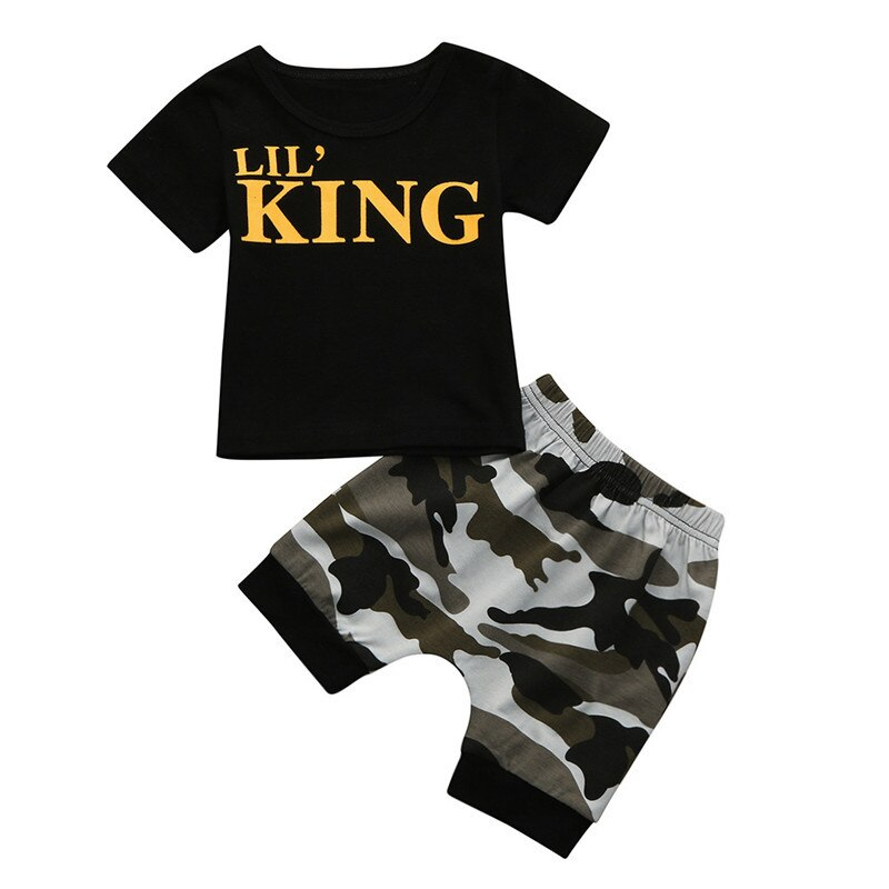 Hot Sale Toddler Kids Baby Boys Clothes Set Summer - Be Imperial