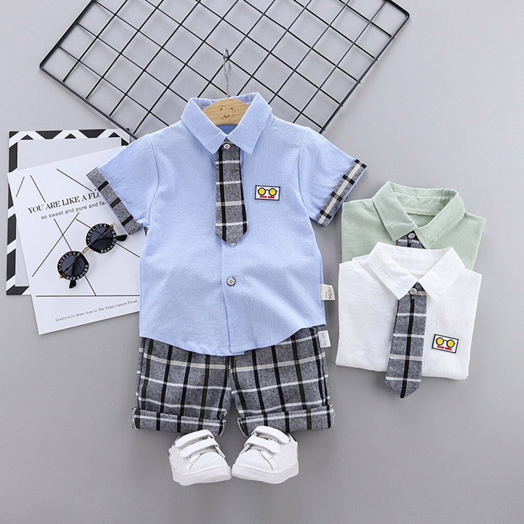Kids Baby Boys Clothing Sets Summer New Style - Be Imperial