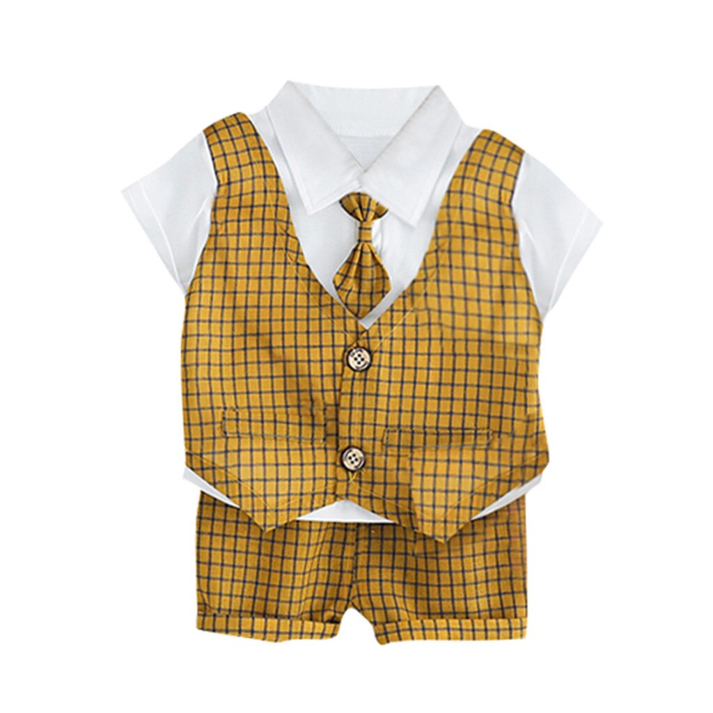Kids Formal Gentleman Dress Toddler Baby Kids Boys