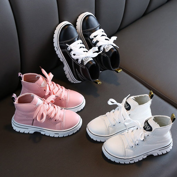 Kids boots New Children Kid Baby Girls Boys Ankle - Be Imperial