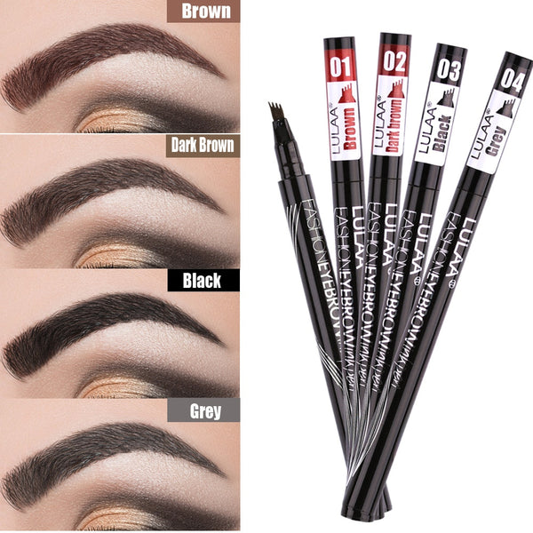 Liquid Eyebrow Pencil Four Heads Eye Brow Enhancer - Be Imperial