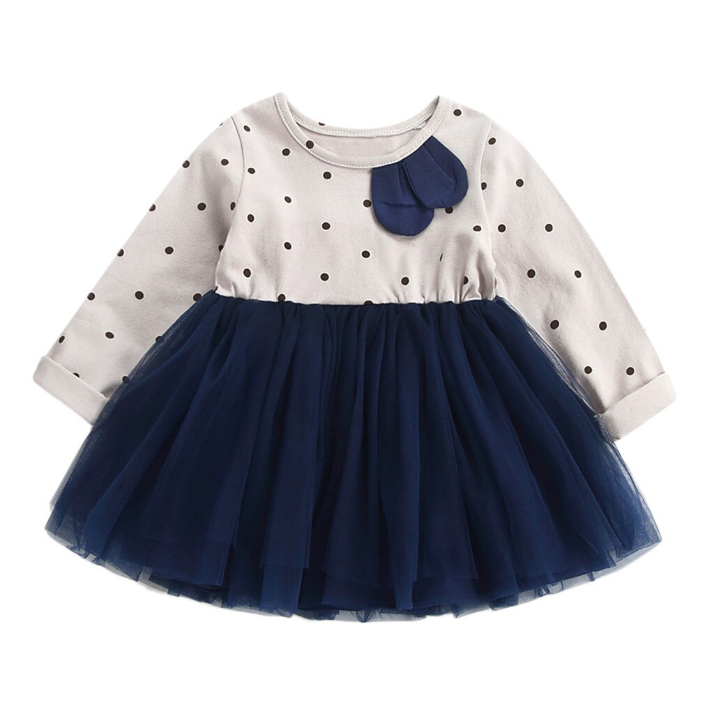 Toddler Clothes Kids Baby Girls Dot Dress - Be Imperial