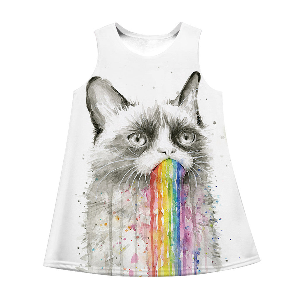 summer Kawaii baby girl dress Teen
