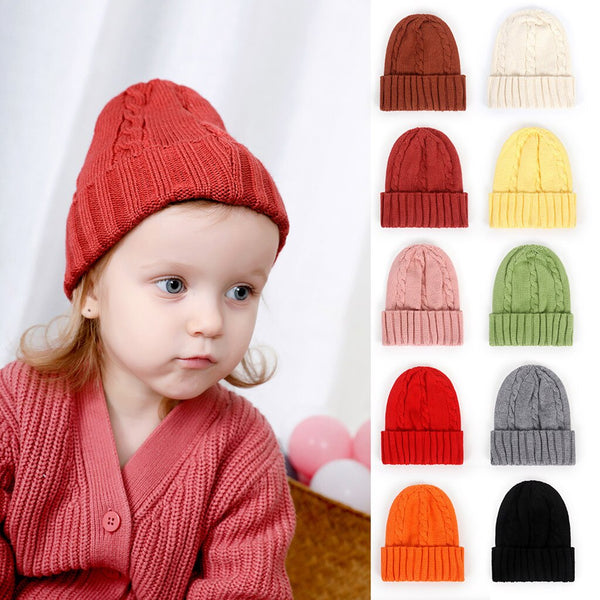 New Arrival Baby Girl Boy Winter Hat Newborn Girl - Be Imperial