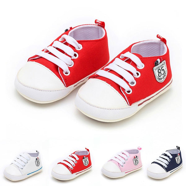 New Canvas Newborn Baby Boys Girls First Walkers - Be Imperial