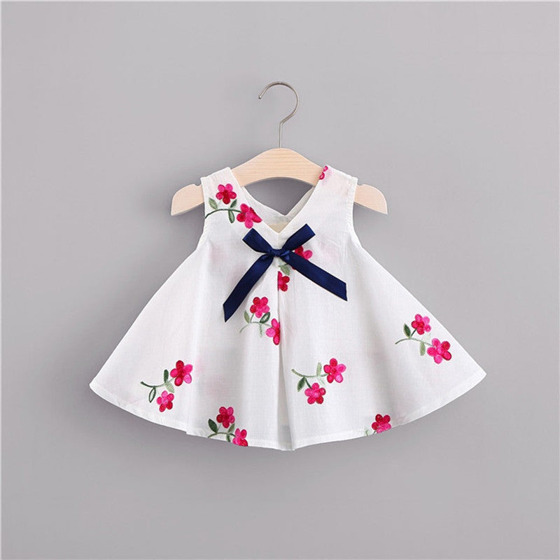 Newborn Baby Girls Dress Summer Clothes Floral - Be Imperial
