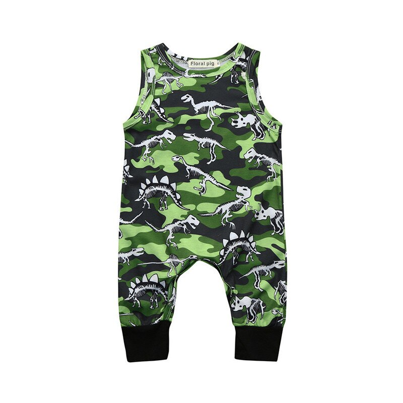 Newborn Infant Rompers Baby Boys Girls Camouflage