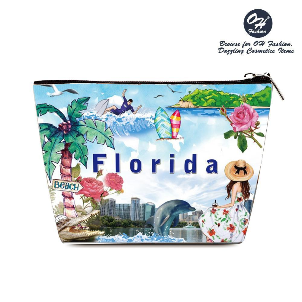 OH Fashion Cosmetic Bag Summer Florida - Be Imperial