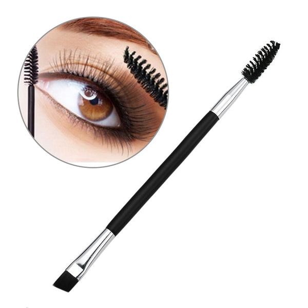 Professional Double Eyebrow Brush+Eyebrow Comb - Be Imperial