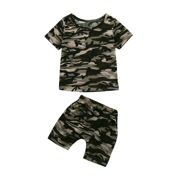Summer Cute Children Toddler Kid Baby Boys Clothes
