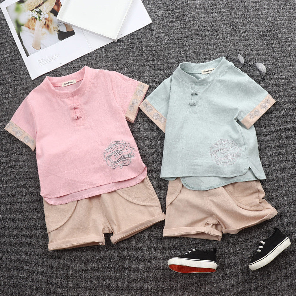 Summer Cute Children Toddler Kid Baby Boys Clothes - Be Imperial