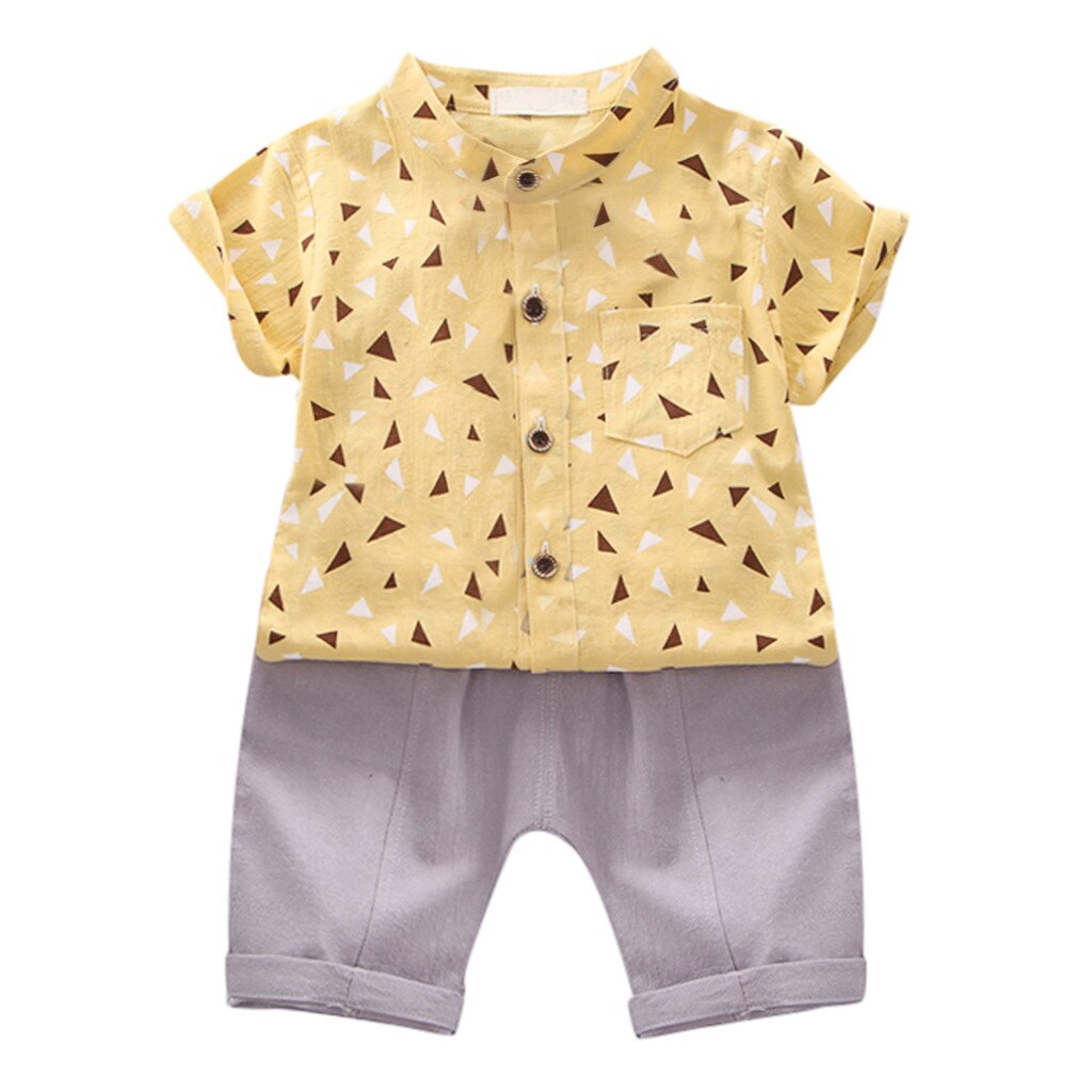 Summer Cute Kids Baby Boy Clothes Set Gentleman - Be Imperial