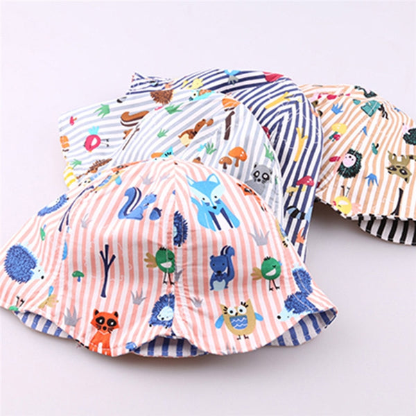 Toddler Baby Hat Children Boys Girls Caps Cartoon - Be Imperial