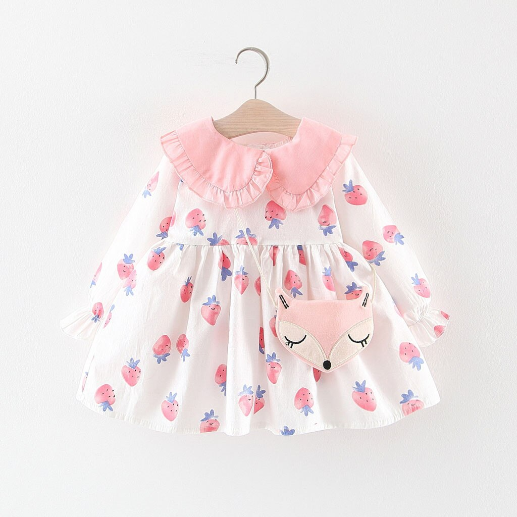 Toddler Girl Dresses Baby Kids Girls Dress Ruffles - Be Imperial
