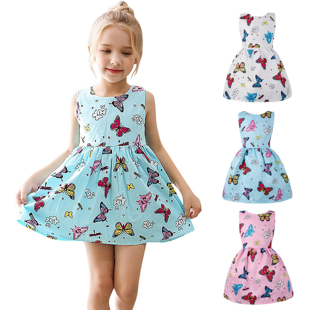 Toddler Girl Dresses Summer Cute Kid Baby Girls - Be Imperial