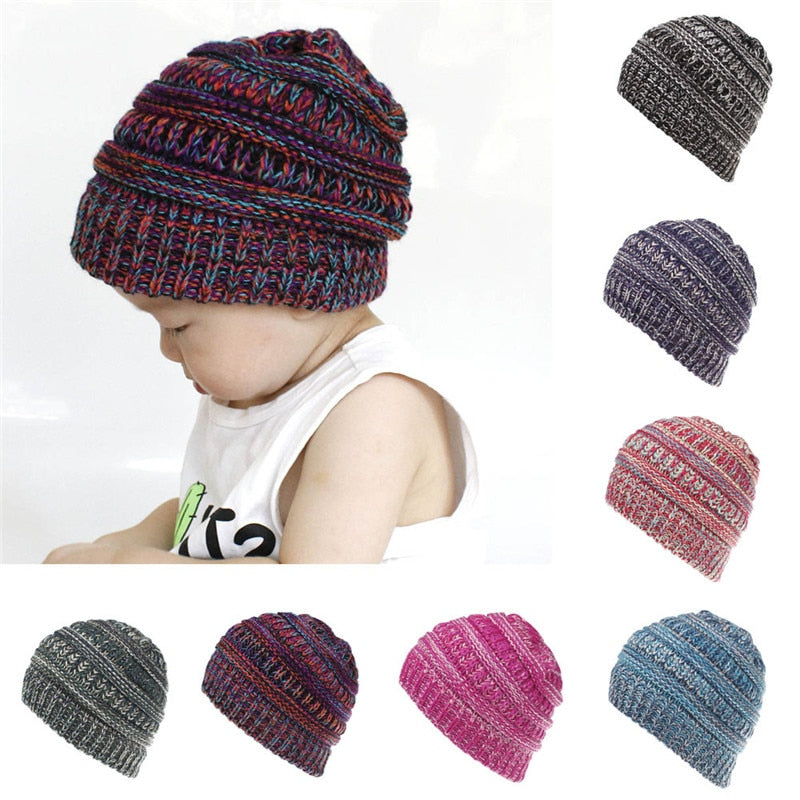 Toddler Infant Baby Hats Kids Boys Girls Color - Be Imperial
