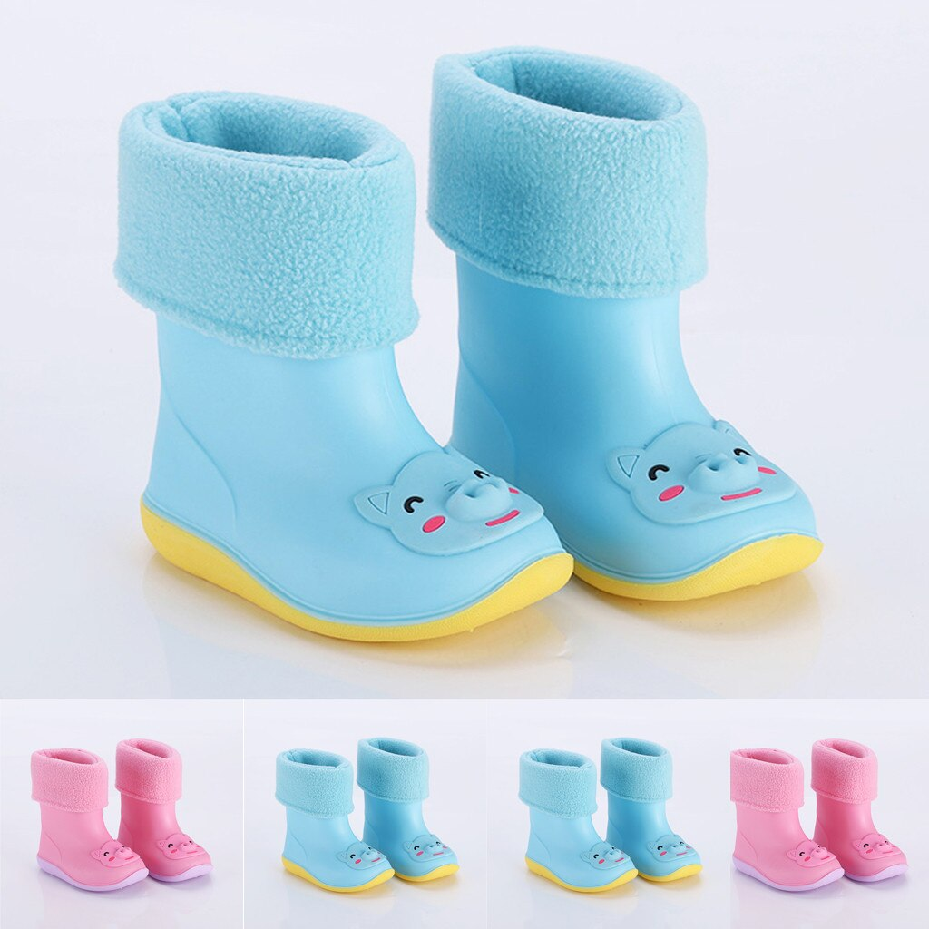 Toddler Infant Kids Baby Boys Girls PVC Rain Boots - Be Imperial