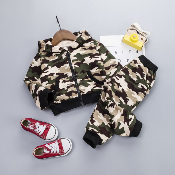 Toddler Kids Camouflage clothing Baby Boy Girl - Be Imperial